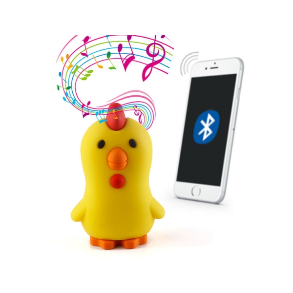 Custom chicken design imprinted logo mini MP3  Wireless Bluetooth Speakers