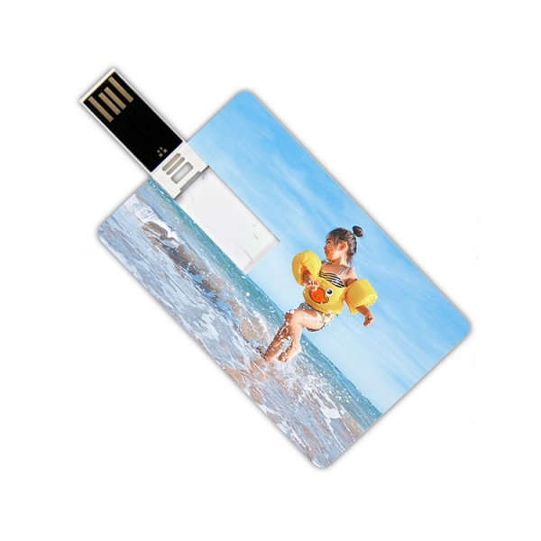 Promotional slim business credit card usb flash drive pen drive 16gb