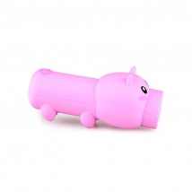 China Portable mini 2600mah Promotion Cute pig shape Power bank  with Li-Polymer Battery factory