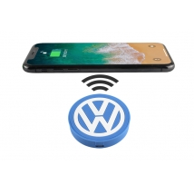 China Custom fast 5W PVC Wireless Charging Charger Pad for gifts factory