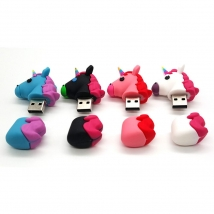 China Customized Funny Shape Unicorn USB Stick Flash Drive Factory factory
