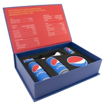 China Electronic promotional Pepsi gift box sets factory
