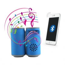 La fábrica de China OEM Wireless Music Mini portable Pepsi music speaker & horn HIFI bluetooth wireless speaker