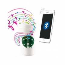 China Tragbare tragbare Outdoor-Bluetooth-Bluetooth-Lautsprecher von Starbucks-Fabrik