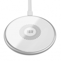 Qi certified 10w iphone wireless charging metal