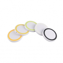 Wholesale bulk 5w ABS Plastic portable wireless phone charger for iphone and for samsung
